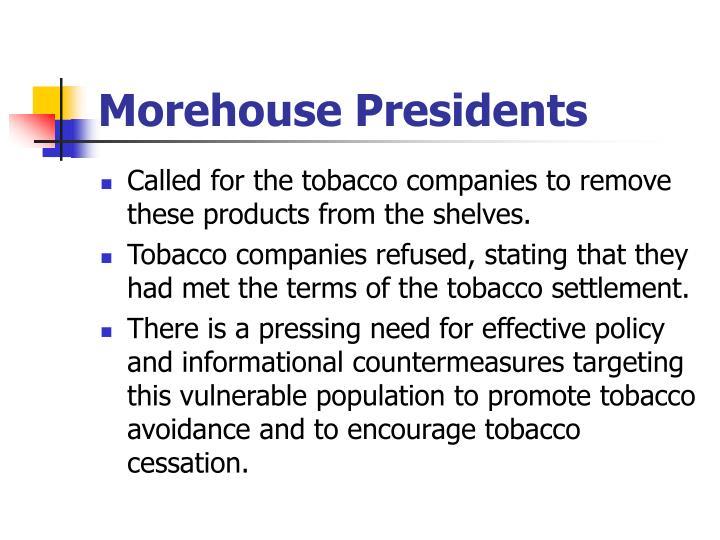 Morehouse Presidents