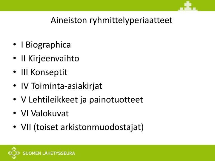 Aineiston