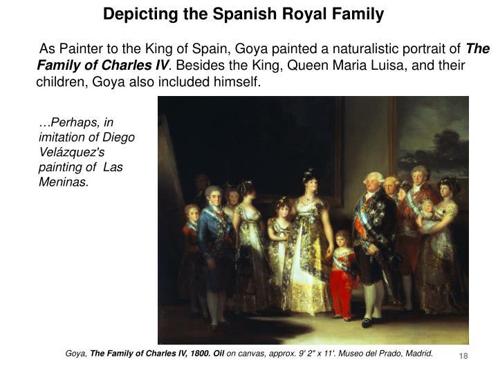 Depicting the Spanish Royal Family