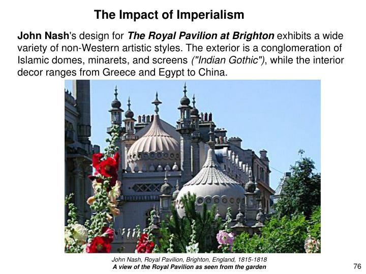 The Impact of Imperialism