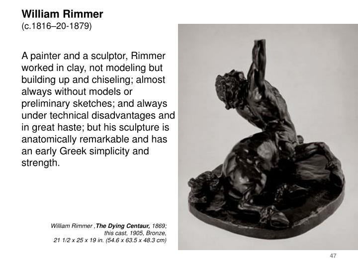 William Rimmer