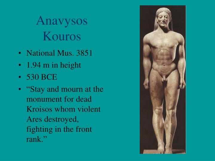 Anavysos Kouros