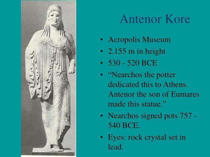 Antenor Kore