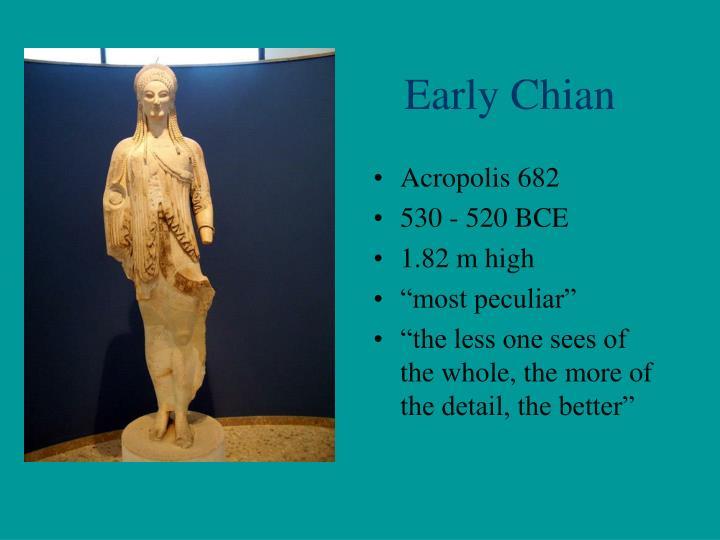 Early Chian