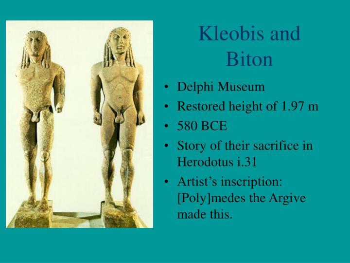 Kleobis and Biton