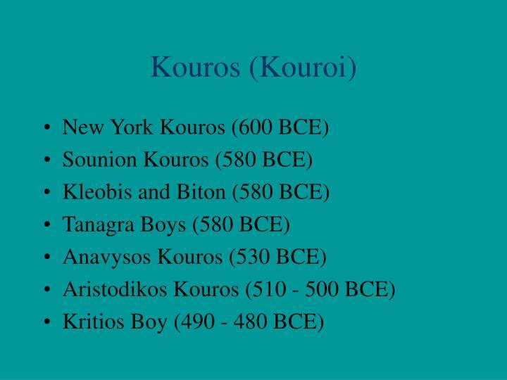Kouros (Kouroi)