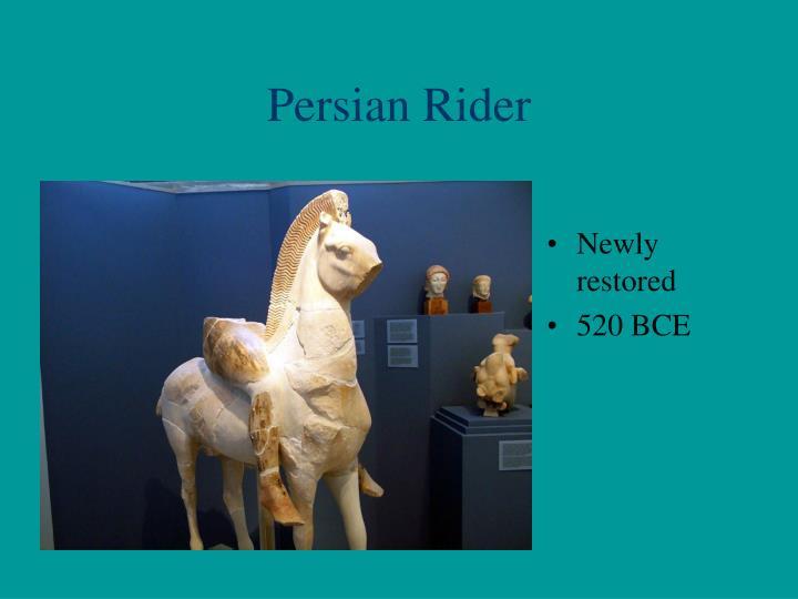 Persian Rider