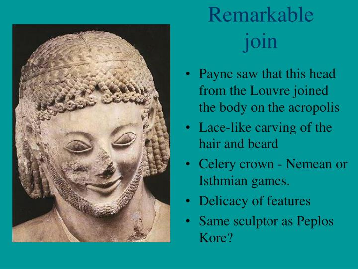 Remarkable join
