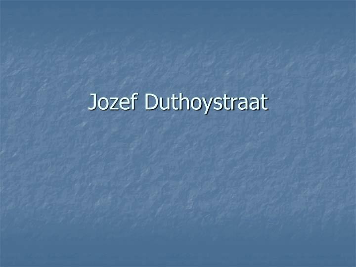 Jozef Duthoystraat