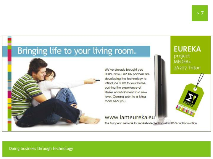 EUREKA Future Innovation : The 3D TV !