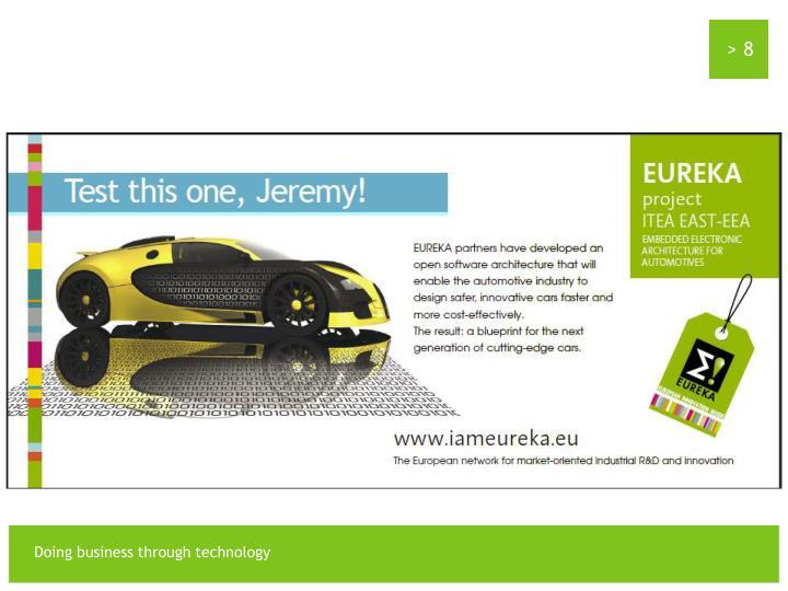 EUREKA Future Innovation : Next Car Generation
