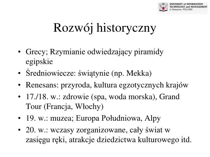 Rozwój historyczny