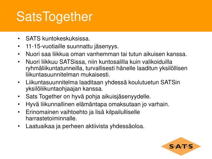 SatsTogether