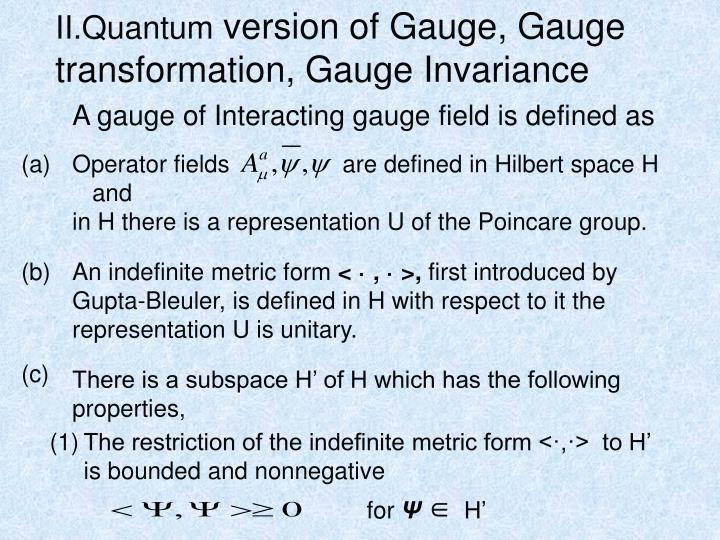 II.Quantum