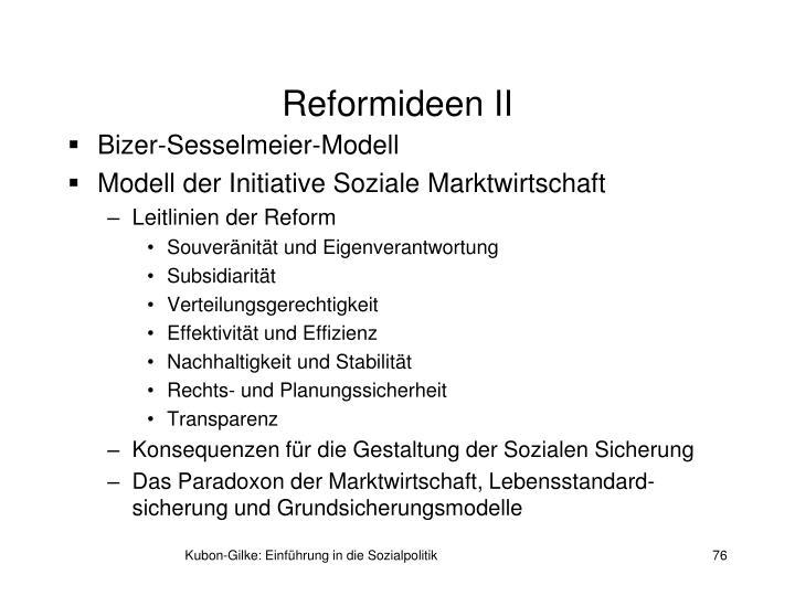 Reformideen II