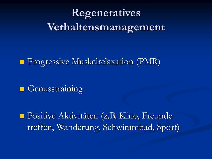 Regeneratives Verhaltensmanagement