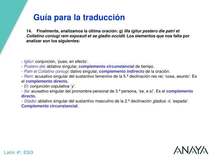 Guía para la traducción