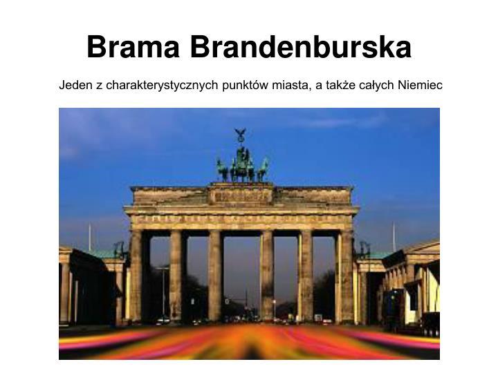 Brama Brandenburska