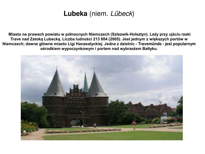 Lubeka
