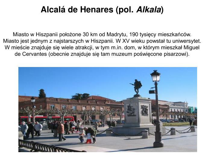 Alcalá de Henares (pol.