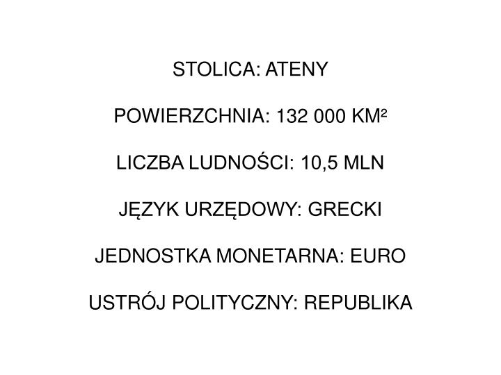 STOLICA: ATENY