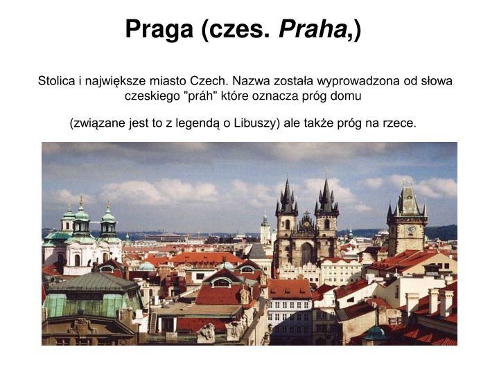 Praga (czes.