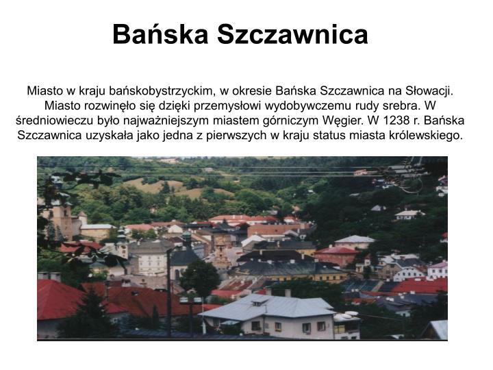 Bańska Szczawnica