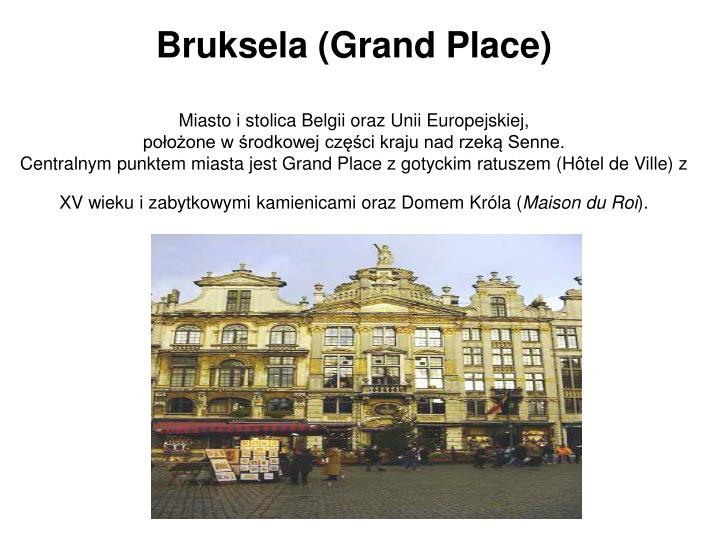 Bruksela (Grand Place)