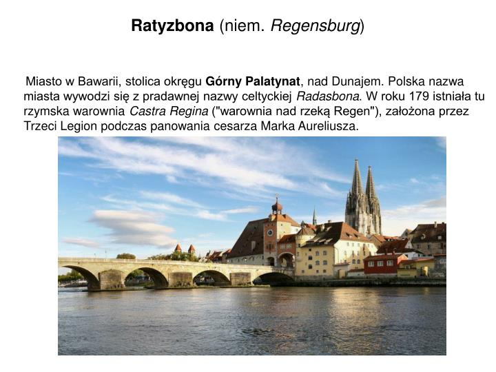 Ratyzbona