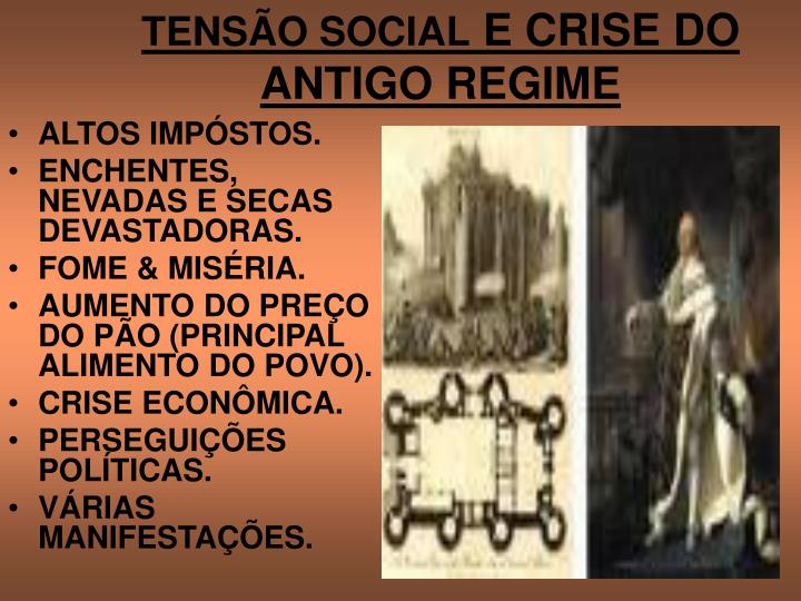TENSÃO SOCIAL