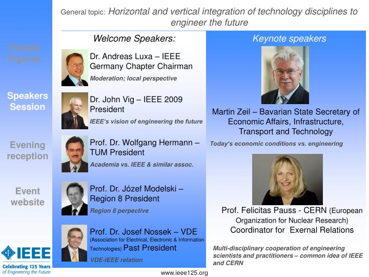 Dr. Andreas Luxa – IEEE Germany Chapter Chairman