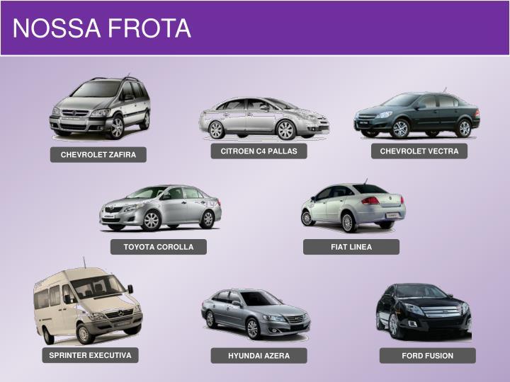 NOSSA FROTA