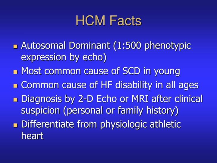HCM Facts