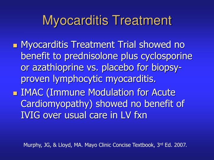 Myocarditis Treatment
