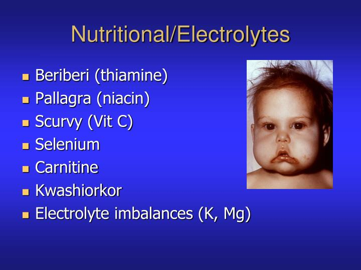 Nutritional/Electrolytes