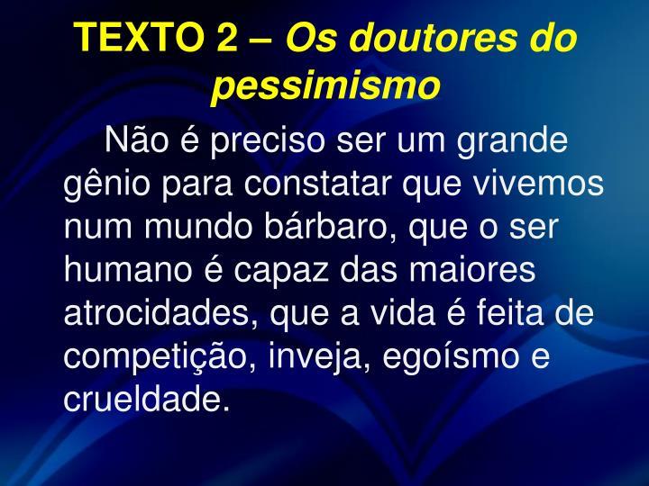 TEXTO 2 –