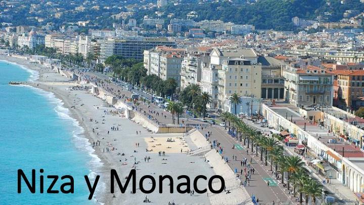 Niza y Monaco