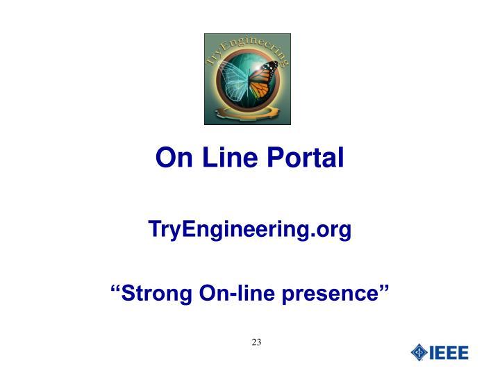 On Line Portal