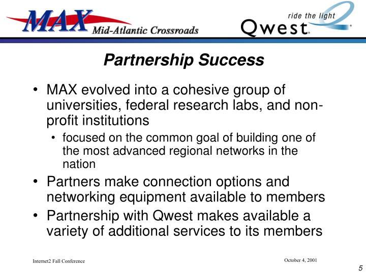 Partnership Success