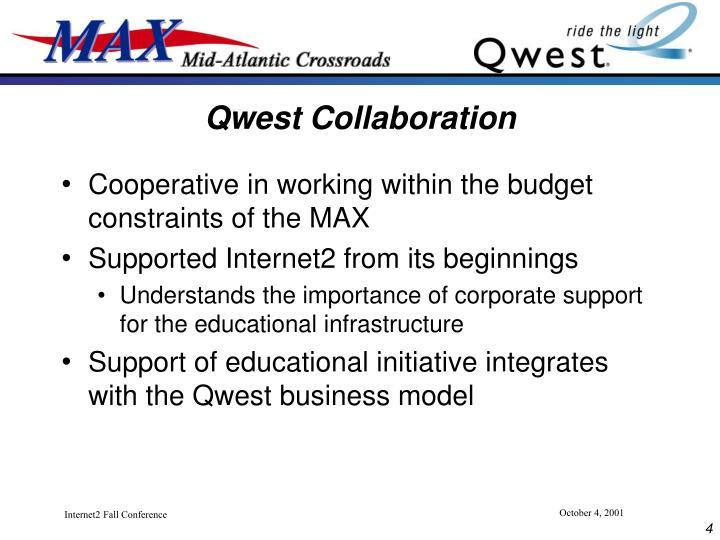 Qwest Collaboration