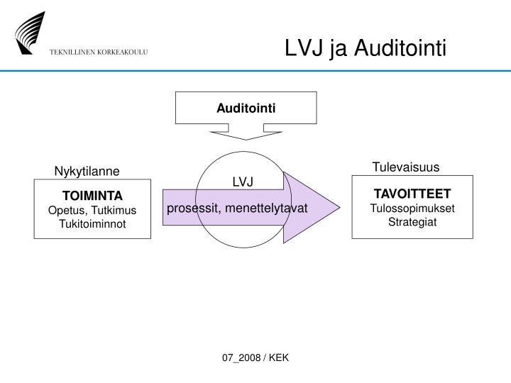 LVJ ja Auditointi