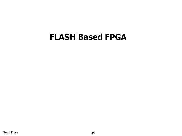 FLASH Based FPGA