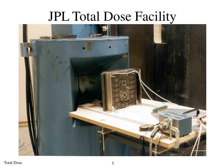 JPL Total Dose Facility