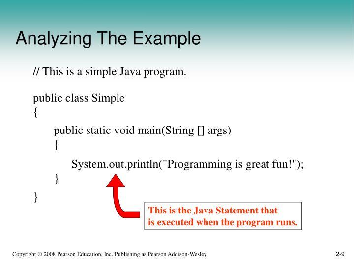 public class Simple