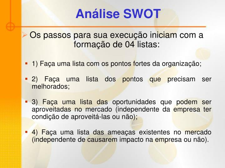 Análise SWOT