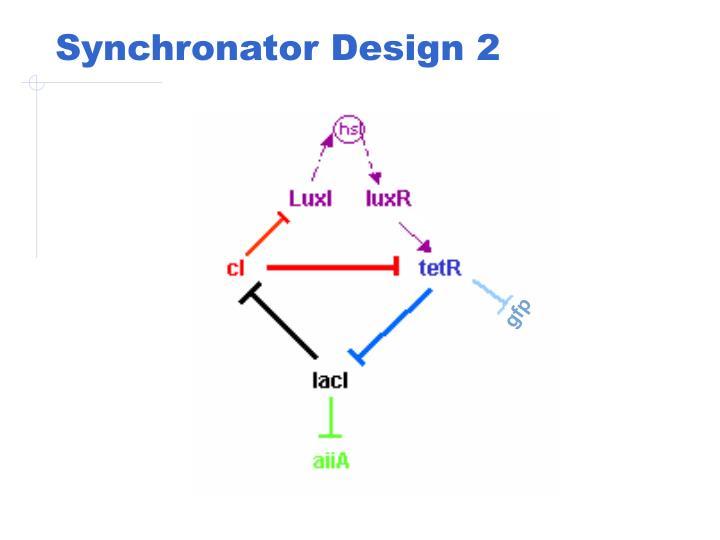 Synchronator Design 2