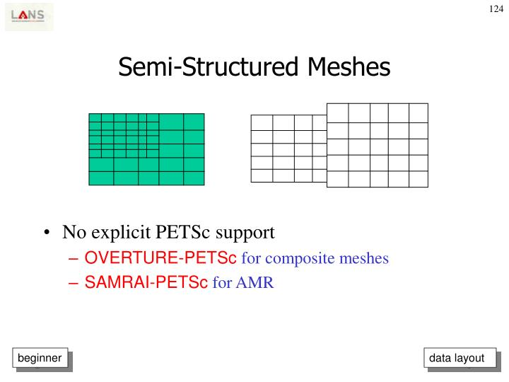 Semi-Structured Meshes