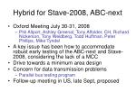 hybrid for stave 2008 abc next