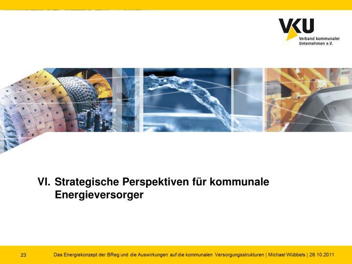 VI.Strategische Perspektiven für kommunale Energieversorger