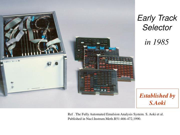 Early Track Selector